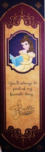 Belle Bookmark front