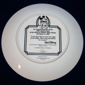 Comemorative Plate 009