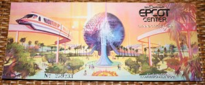 Epcot Commemorative Ticket 005