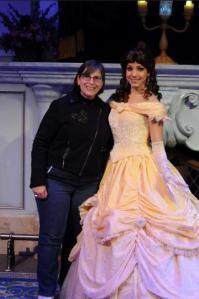 Karen with Belle