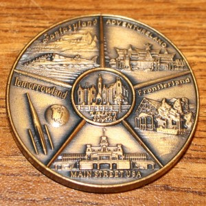 WDW Coin Back