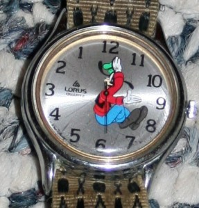 Jewellery Watch Goofy Backwards +