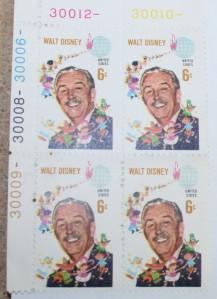 Stamps Walt Disney +
