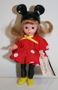 McD Toys Set Minnie W girl +