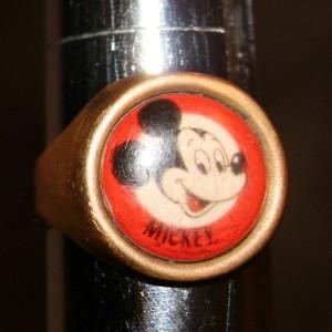 Jewellery Ring Mickey 1+