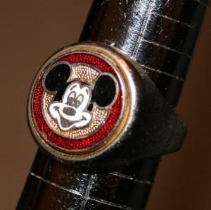 Jewellery Ring Mickey 2+