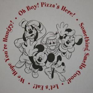 Media Pizza Box lid +