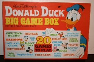 Game Donald Duck Box +