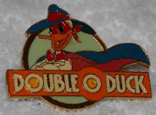 Pin Double O Duck +