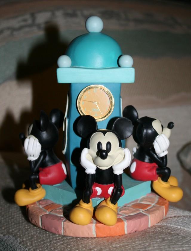 Figurine Clock Tower Mickey 1 +