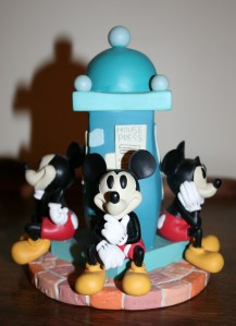 Figurine Clock Tower Mickey 3 +