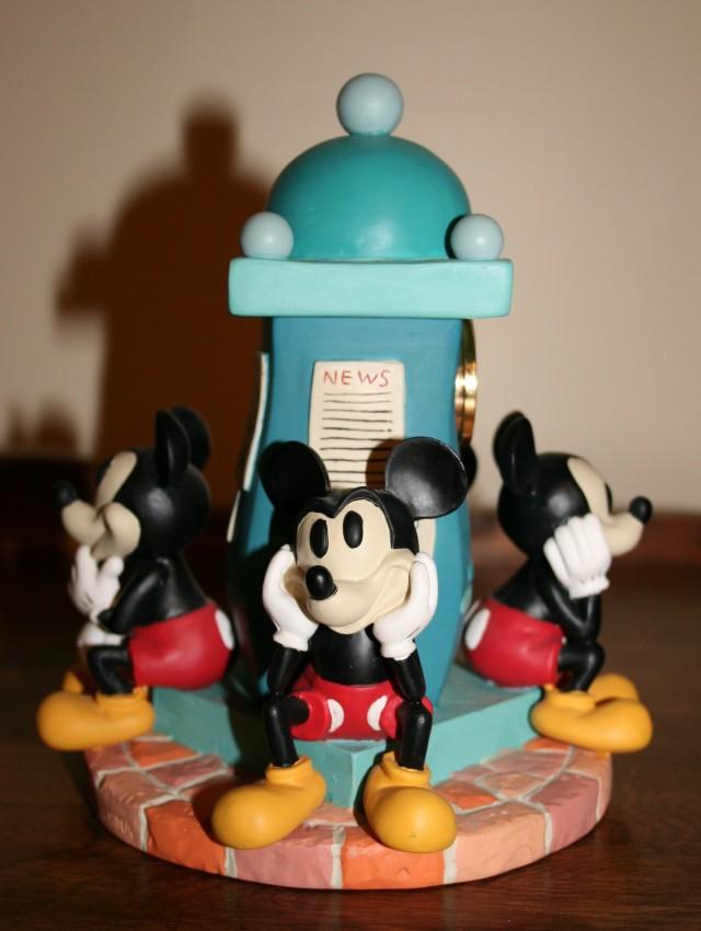 Figurine Clock Tower Mickey 4 +
