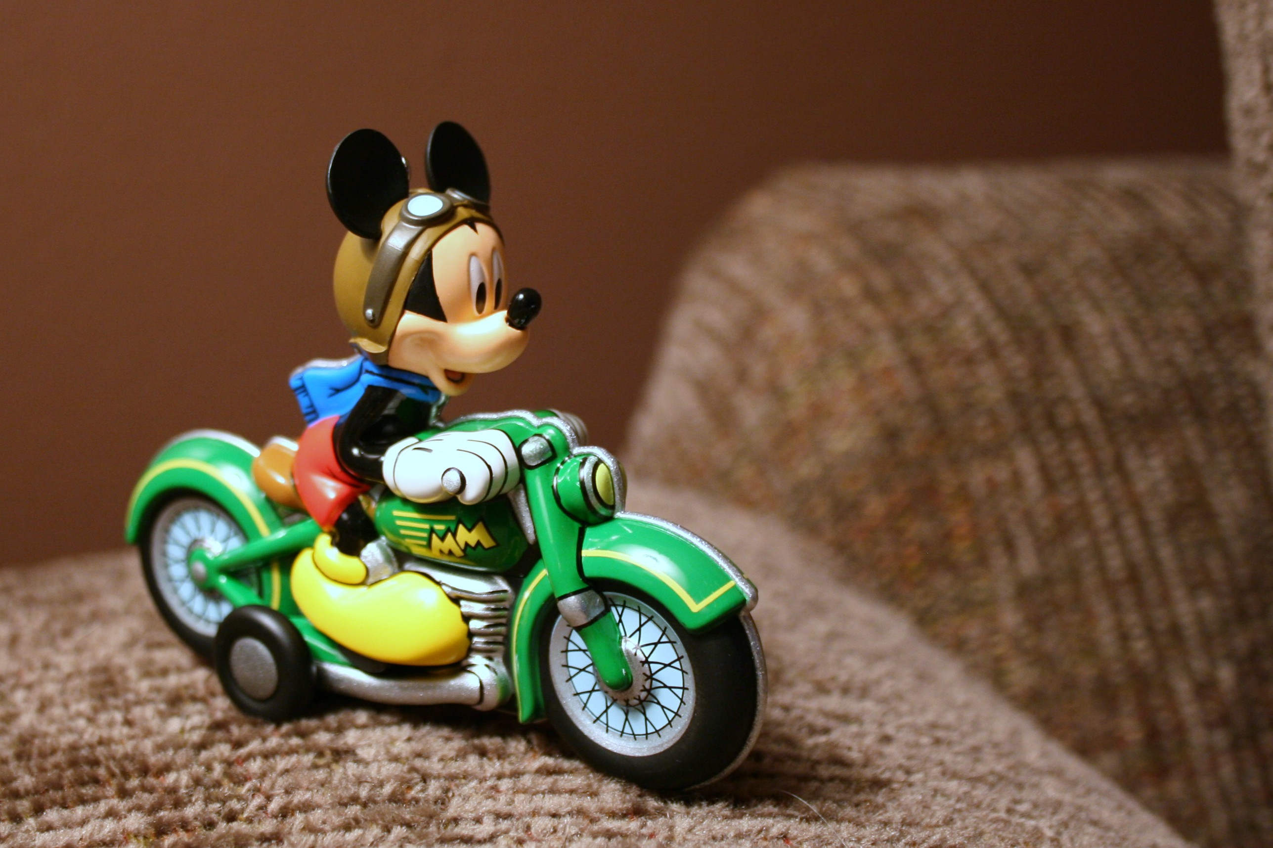 New Stuff Mickey Mouse Riding Train