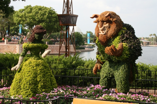FGF Beauty and the Beast Topiary