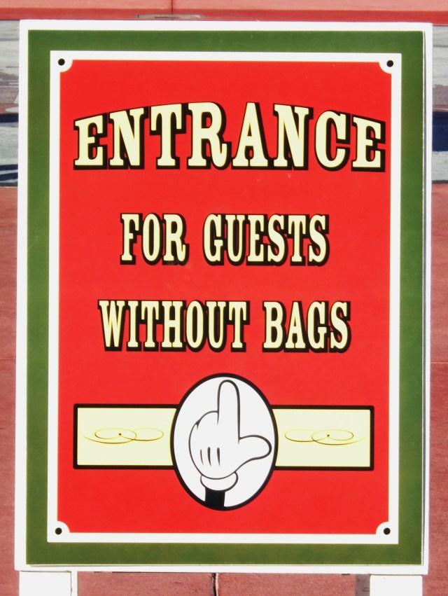 Bag Signage