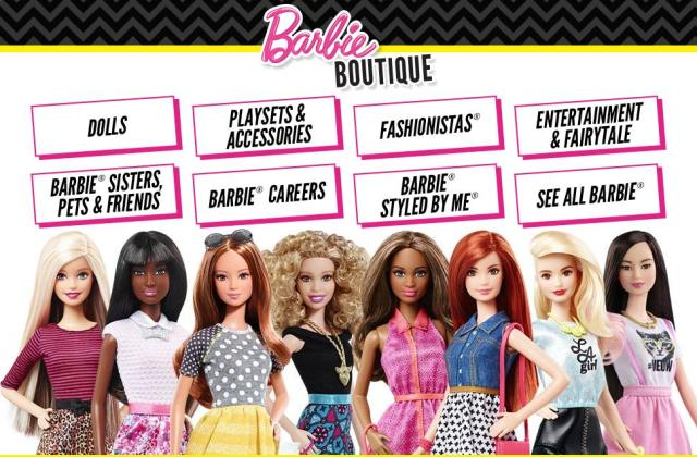 Barbie Toy Line