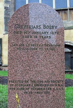 Bobby's headstone