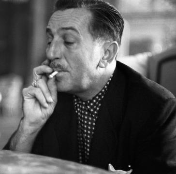 Walt smoking