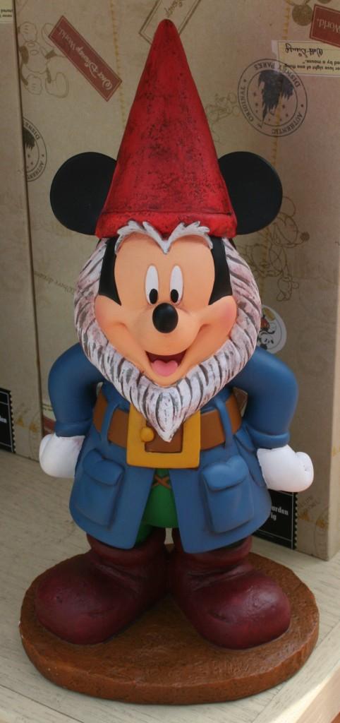 Garden Mickey Gnome +