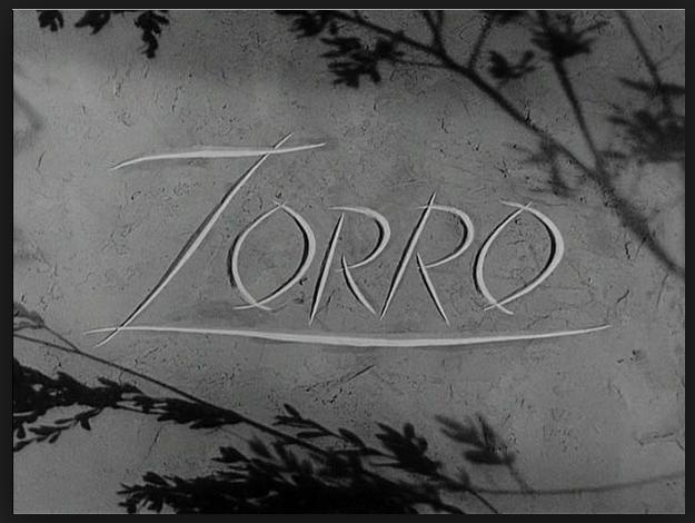 Zorro Title Card