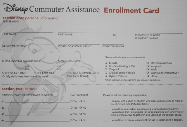 Disney Commuter Assistance 011