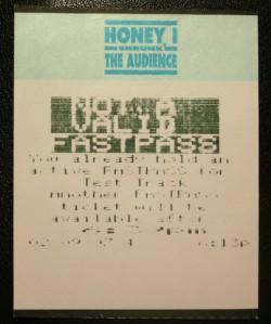 Disney FastPasses 010