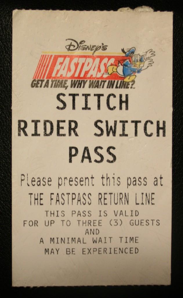 Disney FastPasses 013