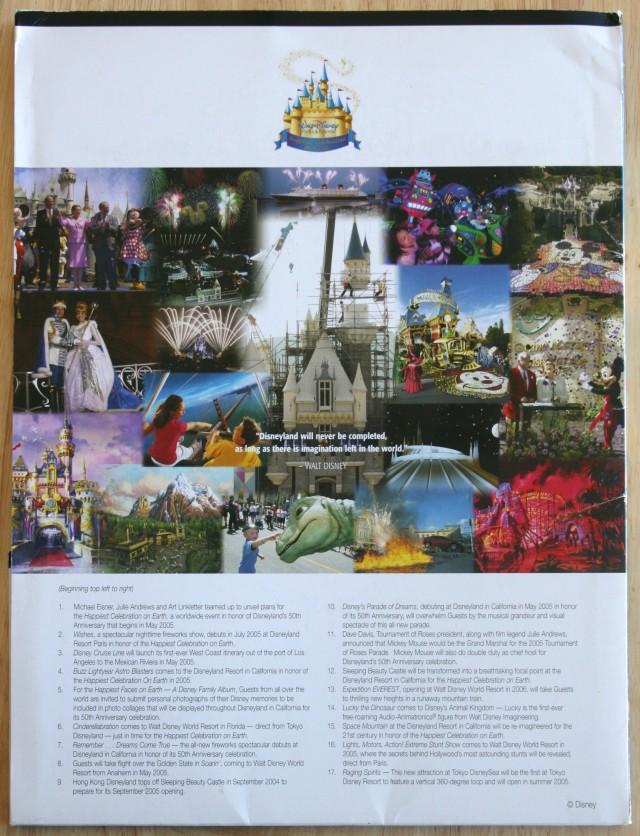 Disneyland 50th Press Kit 002