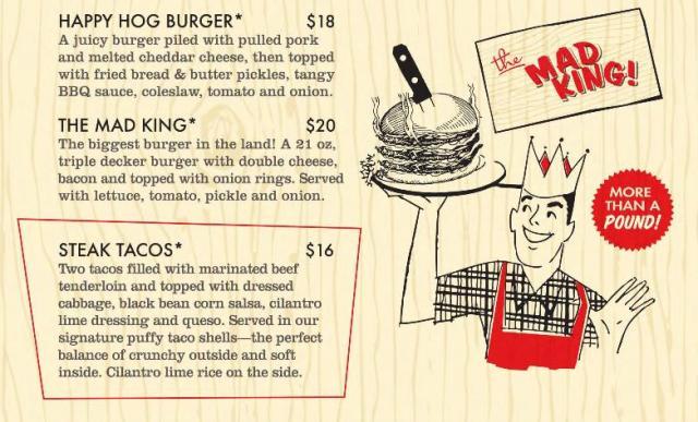 Burger Menu 2