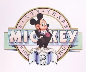 Mickey 60 Logo