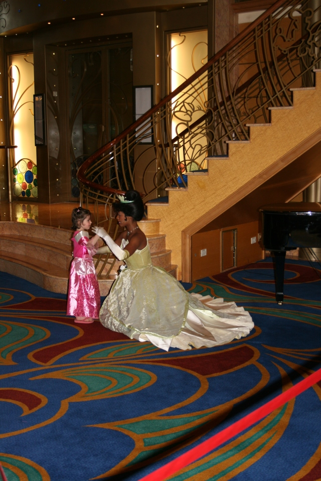 Tiana with Little Princess