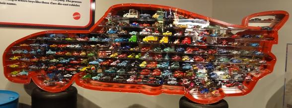 Cars cars display