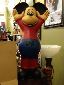 Wooden Mickey Front