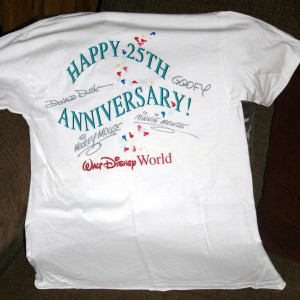 25th Anniversary T-shirt 5