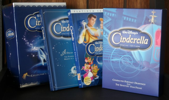 Cinderella DVD Gift Set 003