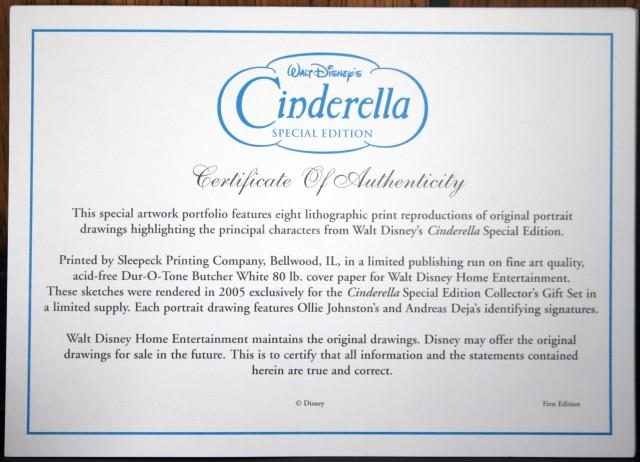 Cinderella DVD Gift Set 011