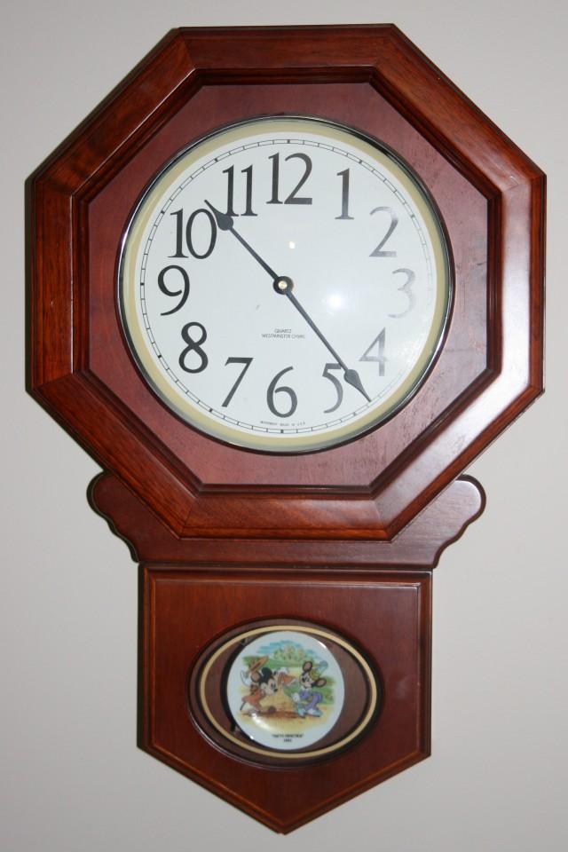 Disney Wall Clock 004