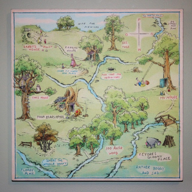 Hundred Acre Wood Map 001