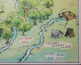 Hundred Acre Wood Map LR