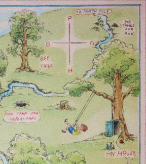 Hundred Acre Wood Map UR