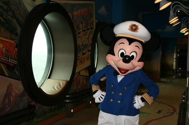 Capt Mickey with Porthole