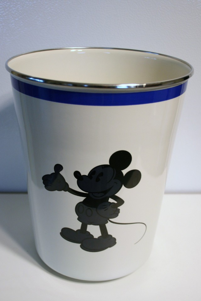 Mickey Ceramic Wastebasket 1
