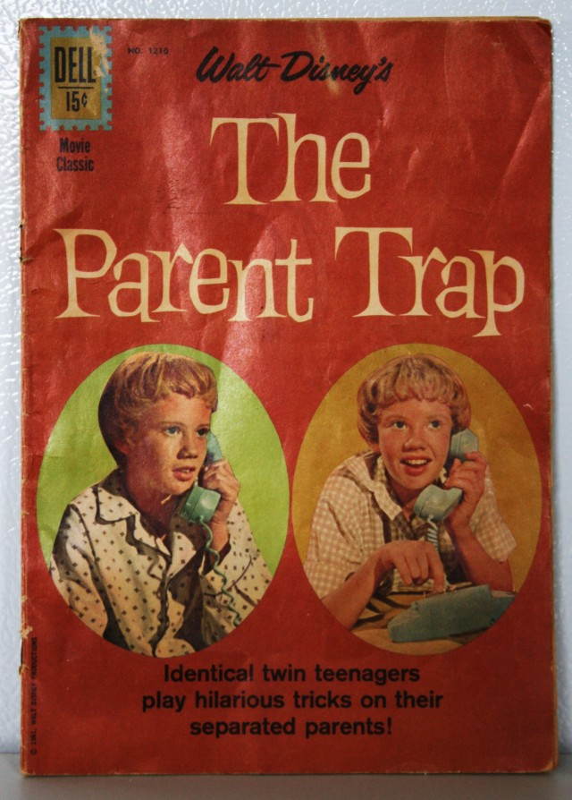 Parent Trap Comic Book 002