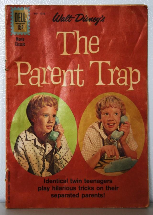 Parent Trap Comic Book 002