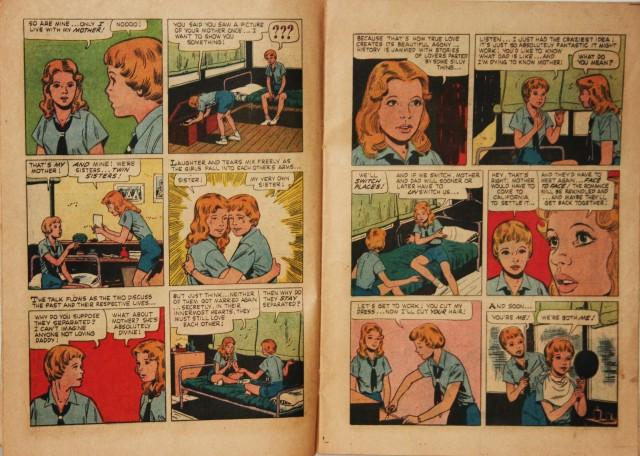 Parent Trap Comic Book 009