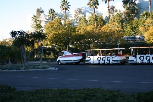 Disneyland Tram