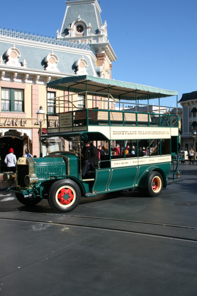 Disneyland Vehicles