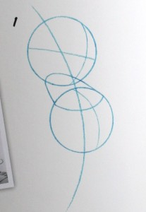 Drawing Classic Mickey Body 1