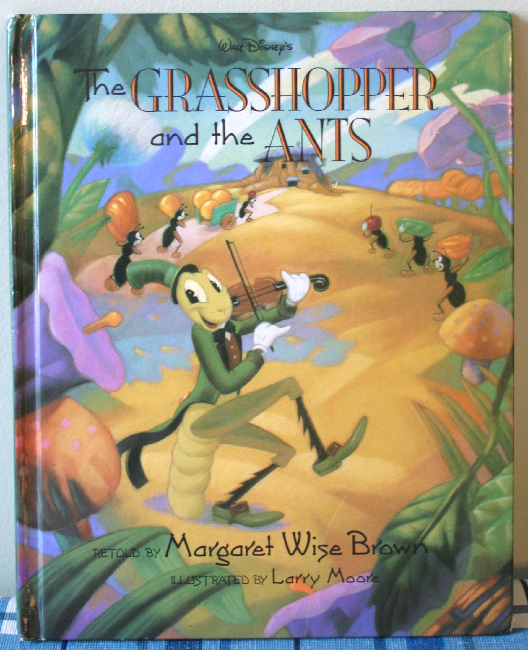 the ants and the grasshopper The ant and the grasshopper amy lowry poole, retold by, amy lowry poole,  illustrator, amy lowry poole, author holiday house $1795 (32p) isbn.
