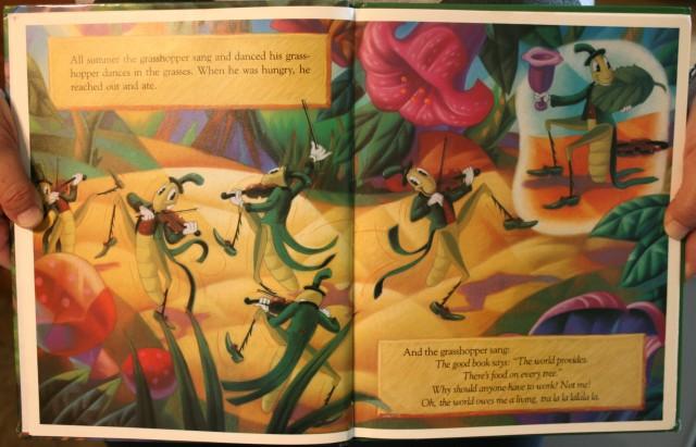 Grasshopper Ants 4